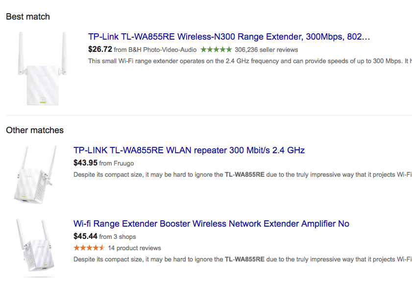 wifi extender prices