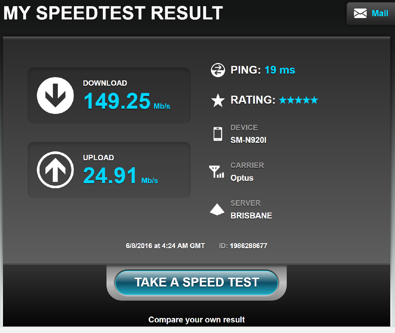 mobile broadband speed test vs nbn