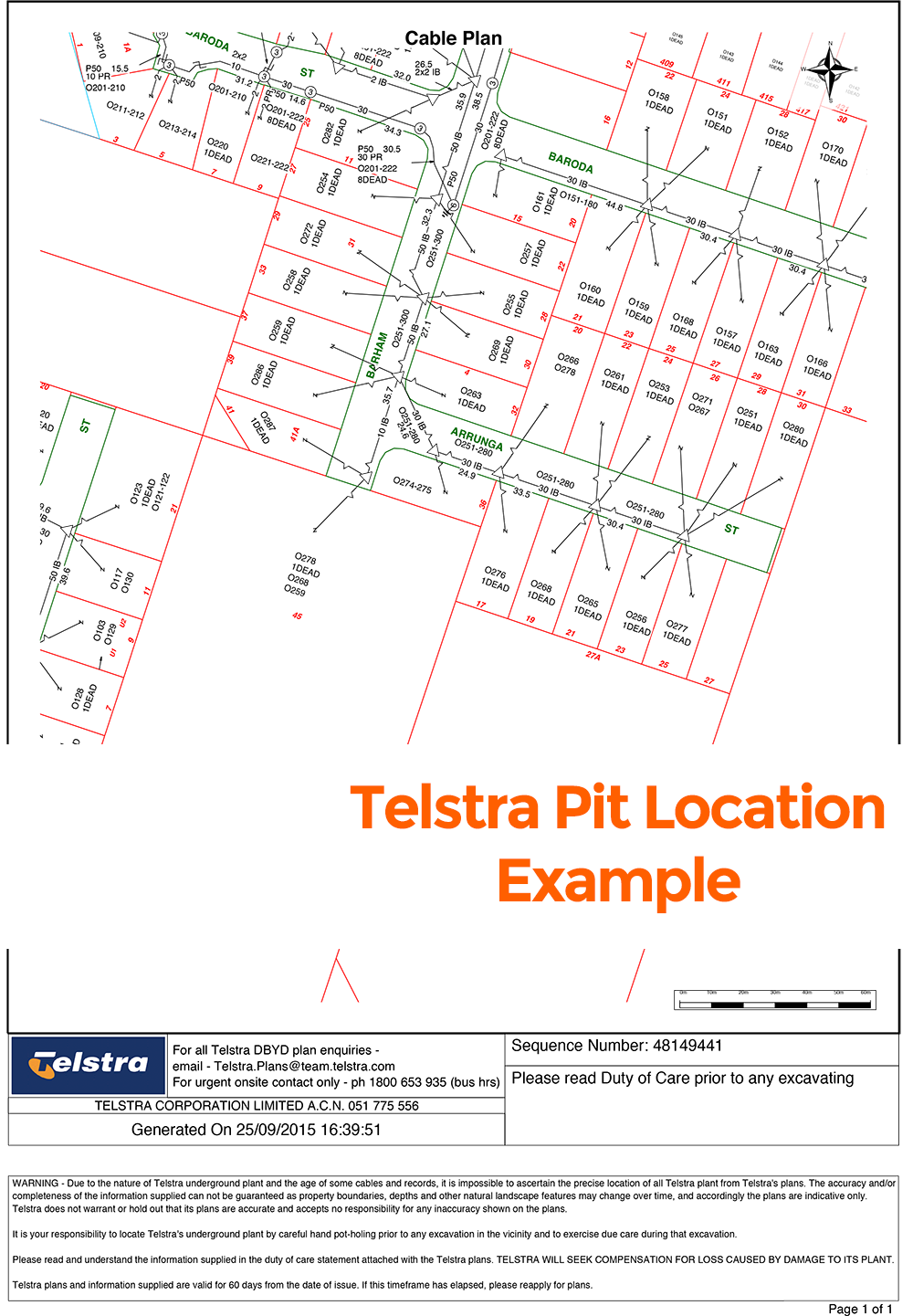 Cable Line Locator : Telstra pit location things you need to know