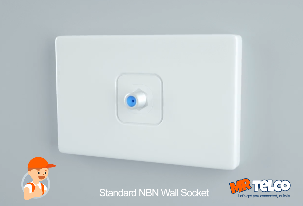 NBN HFC Wall Socket