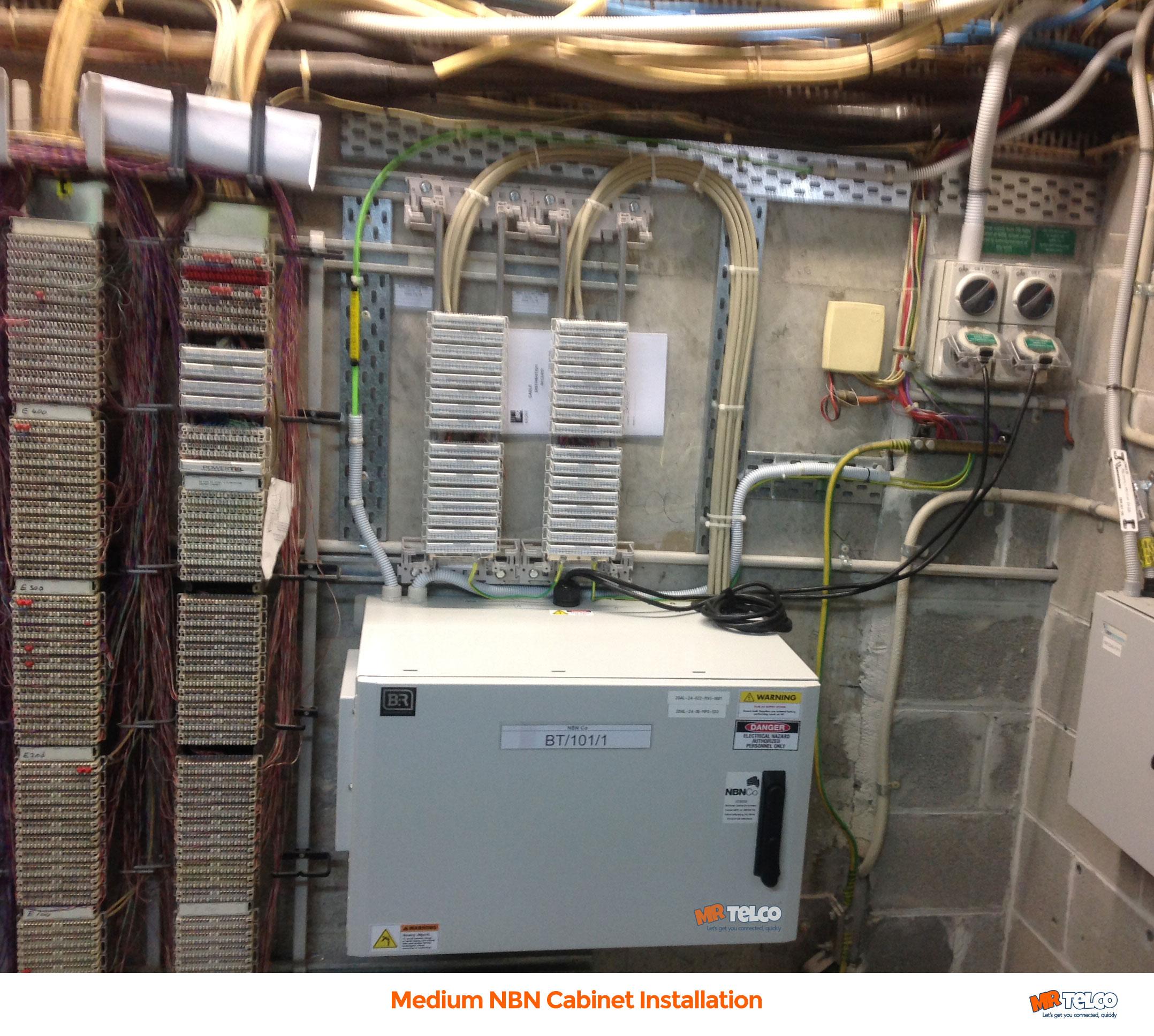 Nbn Subcontractors Explain Fttb Speed Installation Repair Mdf Wiring Diagram Cabinet Medium