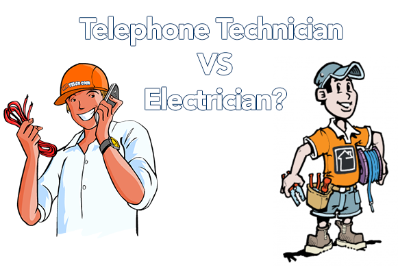 Electrician Vs Telephone Technician